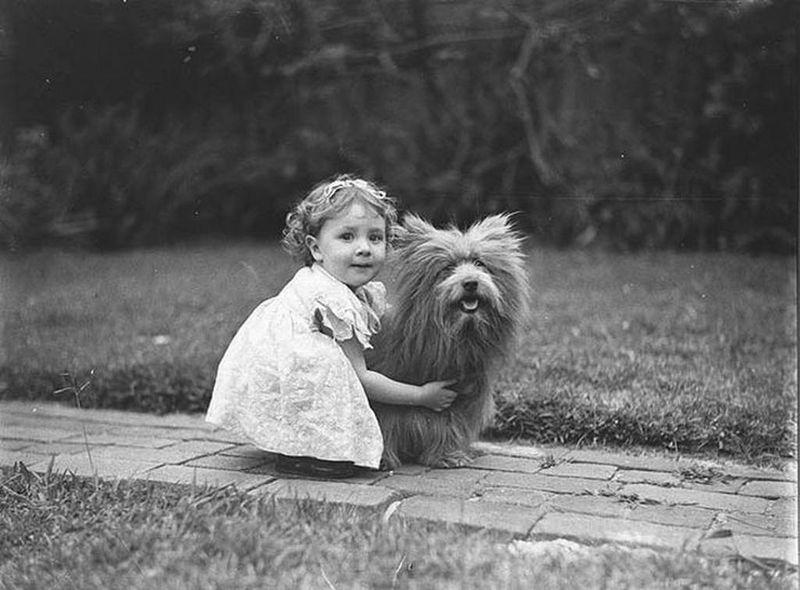 Vintage-man-dog-11