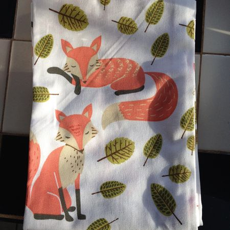 Fox towels